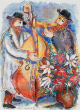 Zamy STEYNOVITZ - Painting - Duo