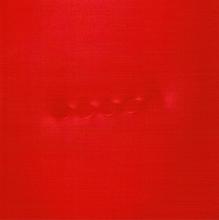 Turi SIMETI - Pintura - Cinque ovali rossi