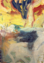 Willem DE KOONING - Painting - Untitled (Not for Sale)