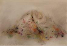 Zoran Antonio MUSIC - Drawing-Watercolor - Collina Con Arabesco