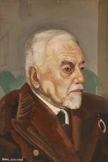 Boris Dimitrevitch GRIGORJEFF - Drawing-Watercolor - Portrait of a Man