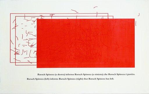 Emilio ISGRO - Painting - SPINOZA