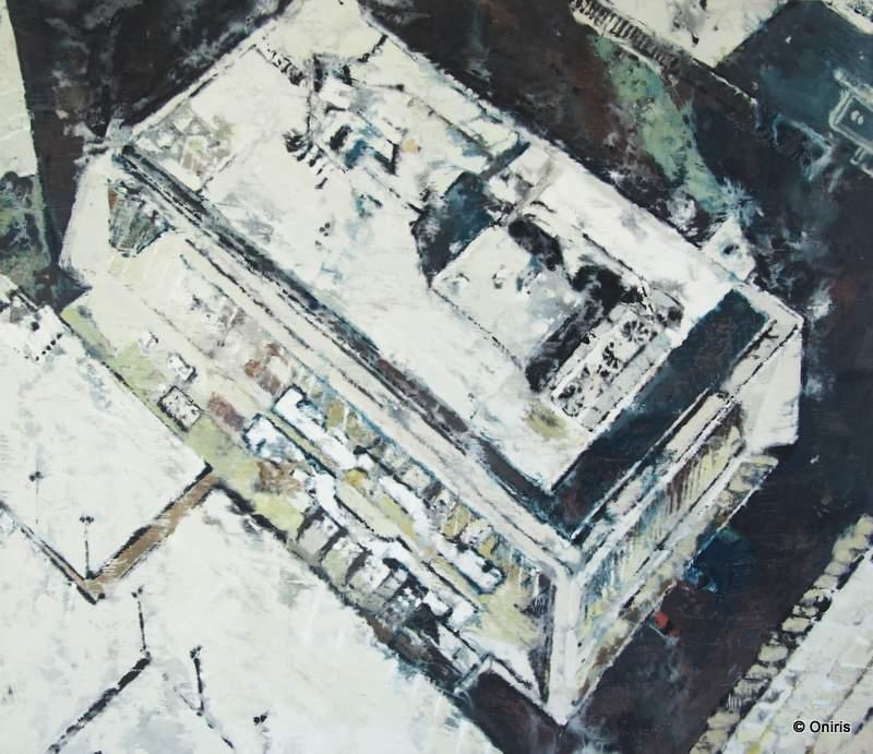 Philippe COGNÉE - Gemälde - Goat