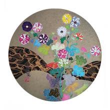 村上 隆 - 版画 - Korin: Flowers