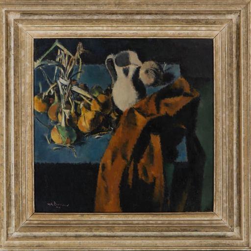 "Charles BARRAUD - Pintura - ""Nature morte aux oignons"""