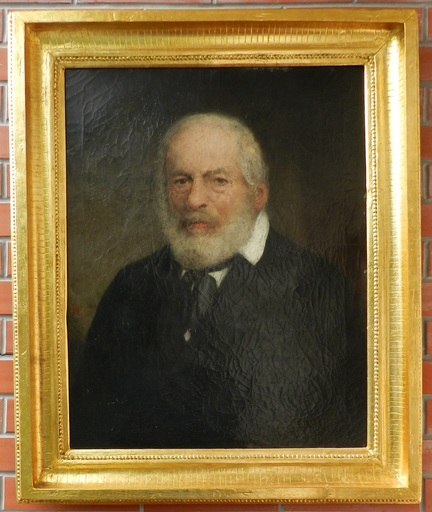 Eduard KRÄUTLER - Pintura - Portrait of old Man