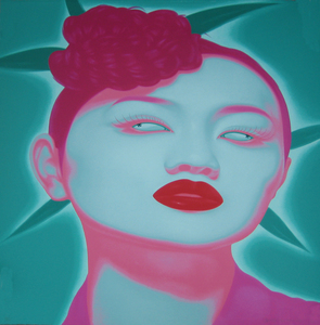 FENG Zhengjie - Estampe-Multiple - Chinese portrait 3
