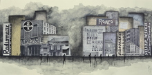 Géraldine THEUROT - Pintura - Urban I    (Cat N° 4922)