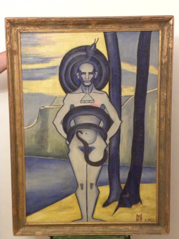 Maud BONADE LA CHARME - Pittura - OOM ou LA ALLAH ELLALLAH
