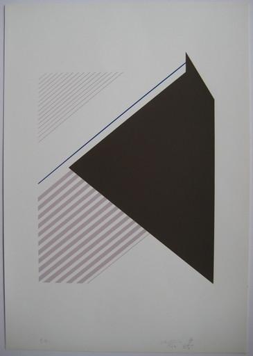 Marie-Thérèse VACOSSIN - 版画 - SÉRIGRAPHIE 1974 SIGNÉE CRAYON EA HANDSIGNED SILKSCREEN