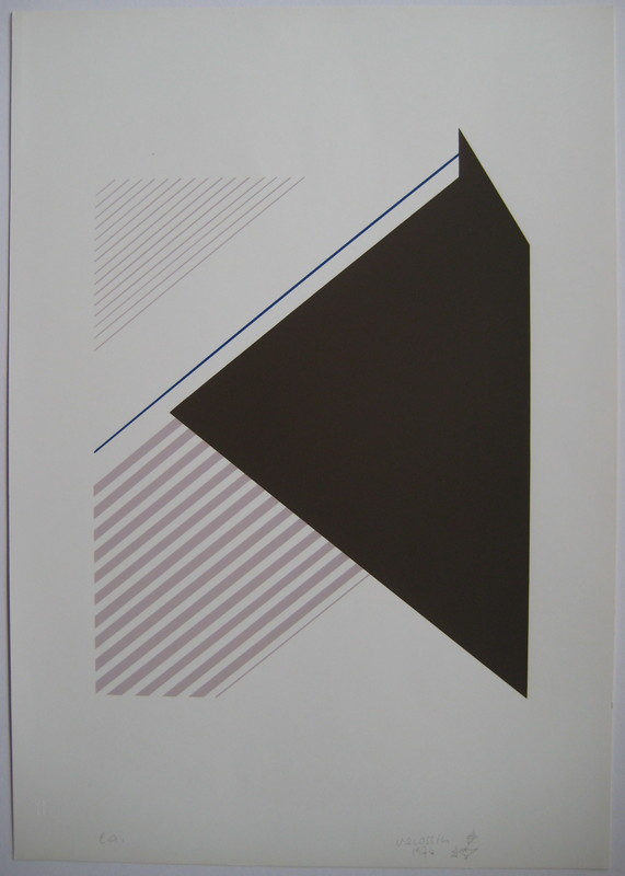 Marie-Thérèse VACOSSIN - Druckgrafik-Multiple - SÉRIGRAPHIE 1974 SIGNÉE CRAYON EA HANDSIGNED SILKSCREEN