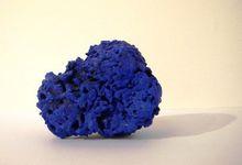 伊夫·克莱因 - 雕塑 - Eponge bleue No. SE 253