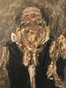 Roger-Edgar GILLET - Gemälde - Maitre de musique, 1978
