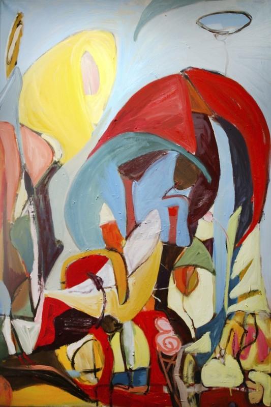 Monique ROLLINS - Pittura - Tropical Splendor