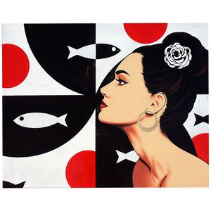 Narcís GIRONELL - Pintura - Counter-current