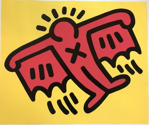 Keith HARING - Grabado - X-Man from Icons Portfolio