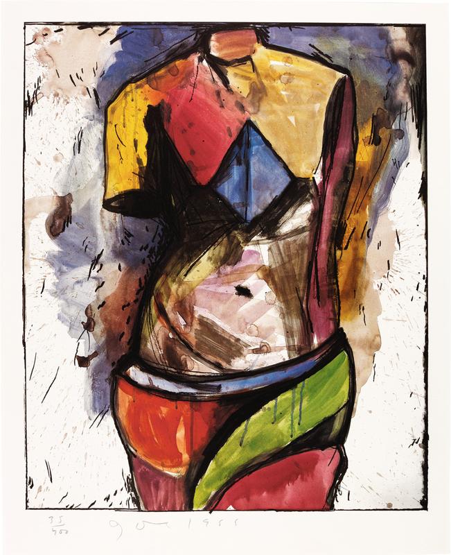 Jim DINE - Stampa Multiplo - The Colorful Venus 1