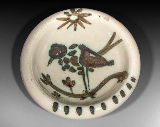 巴勃罗•毕加索 - 陶瓷  - Oiseau sous le soleil