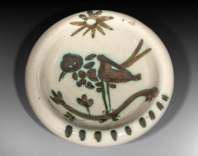 Pablo PICASSO - Ceramiche - Oiseau sous le soleil