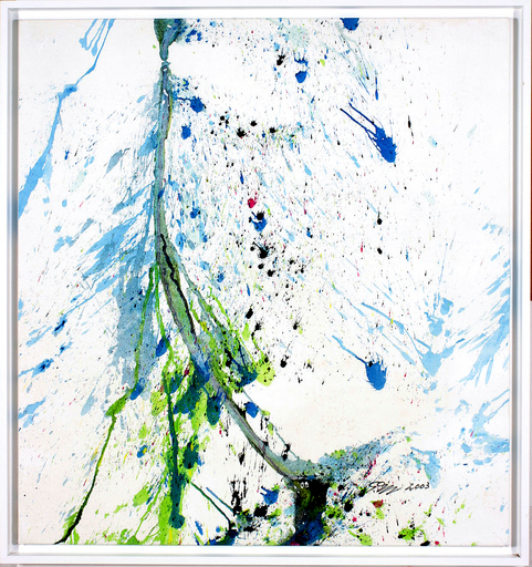 Shozo SHIMAMOTO - Pittura - Venice Biennale 08. Crash Bottle