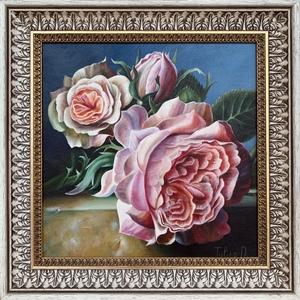 Dayana TULINA - Gemälde - Delicate roses