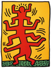 Keith HARING (1958-1990) - Growing 1