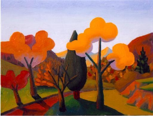SALVO - Painting - Ottobre