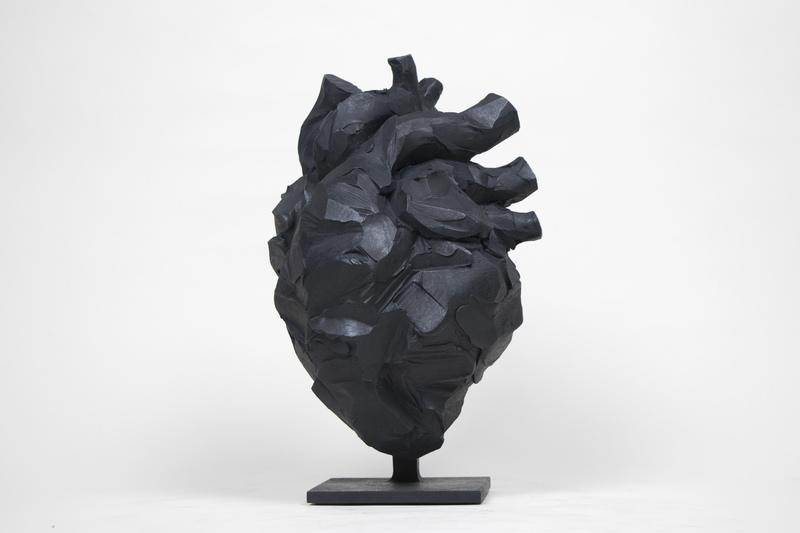 Yoann MERIENNE - Skulptur Volumen - Coeur