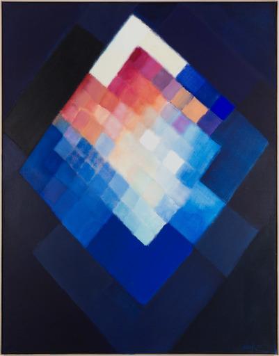 Heinz MACK - Pintura - Prisma der Nacht