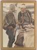 "Petrus SAIN - Zeichnung Aquarell - ""Market in Sarajevo"" by Petrus Sinan Sain, 1910's"