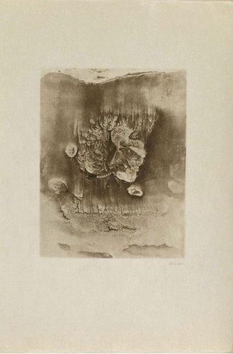 Hans BELLMER - Grabado -  Entre deux eaux