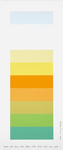 Kyong LEE - Pittura - Emotional Color Chart 100