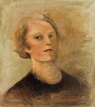 Alexandra Ivanovna YAKUSHEVA - Painting - Self-Portrait