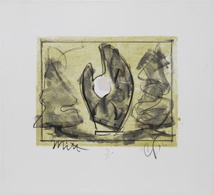 Claes Thure OLDENBURG - Stampa Multiplo - Standing Mitt with Ball