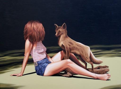Erlend STEINER LOVISA - Pintura - Sacha 2 (Huli jing)    (Cat N° 5937)