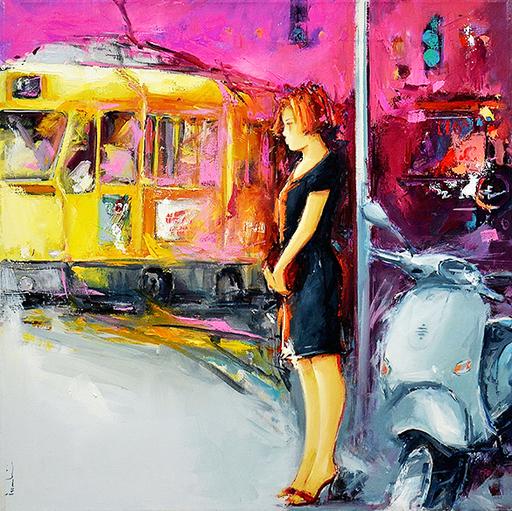 Giuliano TROMBINI - Peinture - Senza titolo