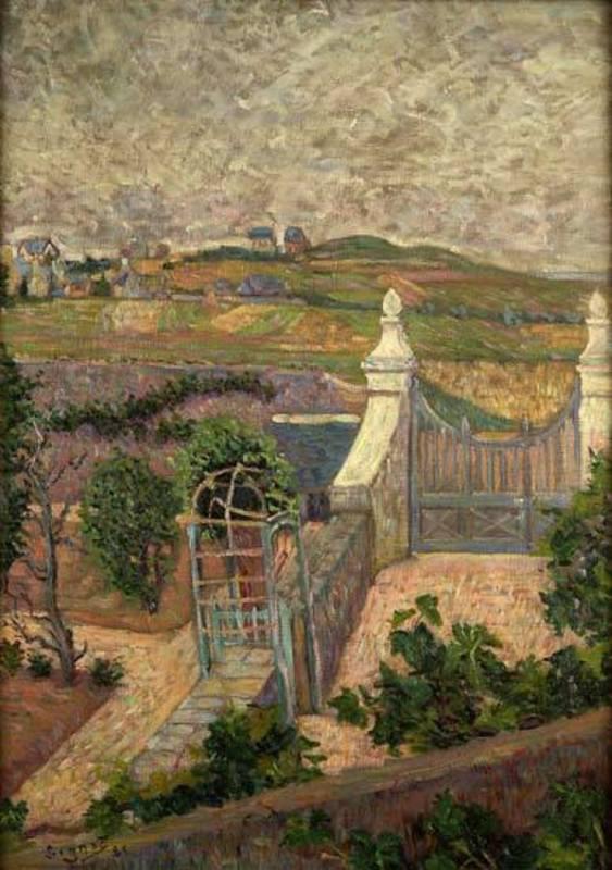 Paul SIGNAC - Pintura - Saint Briac, de ma fenêtre