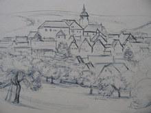 Paul KÄLBERER (1896-1974) - WALDENBUCH BÖBLINGEN