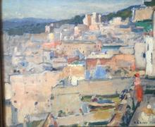 Paul Elie DUBOIS - Peinture - La casbah d'Alger