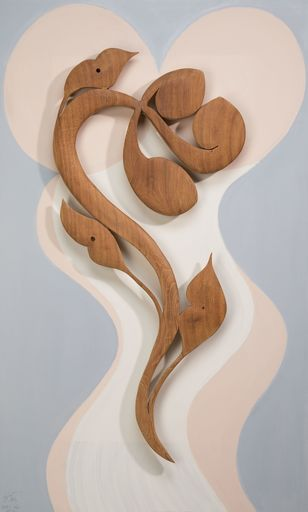 Onno DRÖGE - Sculpture-Volume - Love Flower    (Cat N° 5579)
