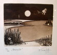 Gottfried KUMPF - Print-Multiple - Hexenritt
