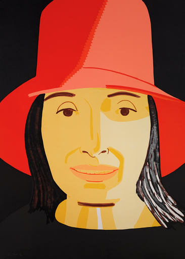 Alex KATZ - Estampe-Multiple - Red Hat Ada