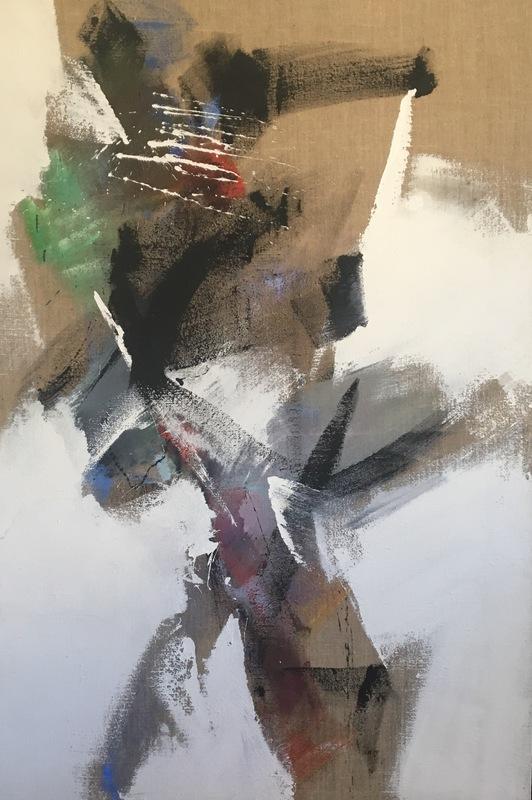 Jean MIOTTE - Pittura - Sans Titre