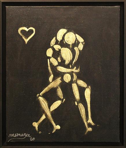 Jérôme MESNAGER - Pintura - Danse Des Amoureux (Ref 178)