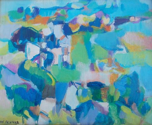 Claude SCHURR - Pintura - Paysage