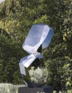 Arik LEVY - Skulptur Volumen - RockFormationTower 110