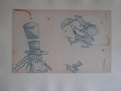 Joan PONÇ - 版画 - GRAVURE 1975 SIGNÉE AU CRAYON ANNOTÉE HC HANDSIGNED ETCHING