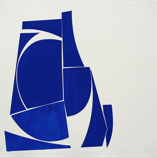 Joanne FREEMAN - Drawing-Watercolor - Covers 24 Blue D Summer