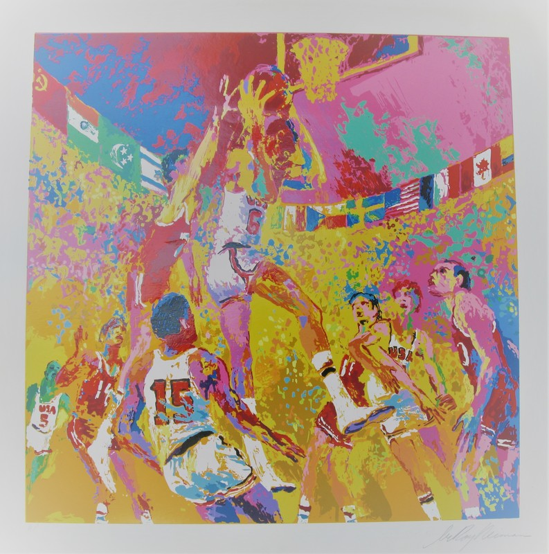 LeRoy NEIMAN - Print-Multiple - *Basketball 1972