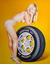 Mel RAMOS - Print-Multiple - Tyra Tyre